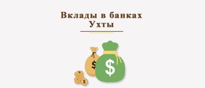 Вклады в банках Ухты